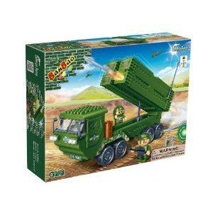Banbao Anti-Aircraft Launcher Truck Building Set ブロック おもちゃ