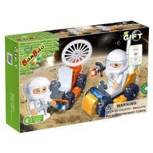 BanBao Moon Cruisers Building Set, 72-Piece ブロック おもちゃ