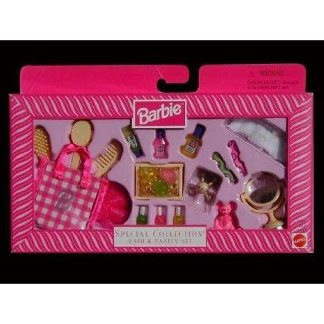 Barbie(バービー) - Special Collection - Bath & Vanity Set ドール 人形 フィギュア