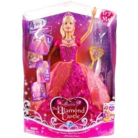 Barbie(バービー) & The Diamond Castle Princess Liana Doll Case Of 6 ドール 人形 フィギュア
