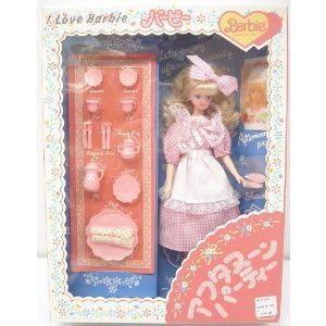 Barbie(バービー) 1990 I Love Barbie(バービー) - Afternoon Tea - Japanese Version ドール 人形 フィ