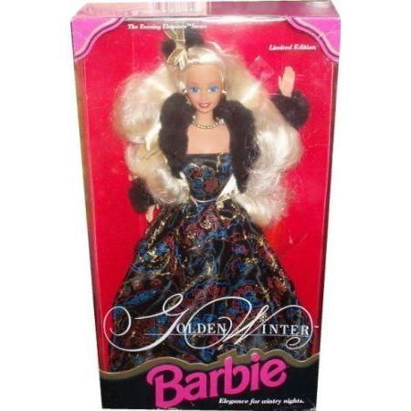 Barbie(バービー) 1993 限定品 (限定品) The Evening Elegance Series 12 Inch Doll - ゴールドen Winter Bar