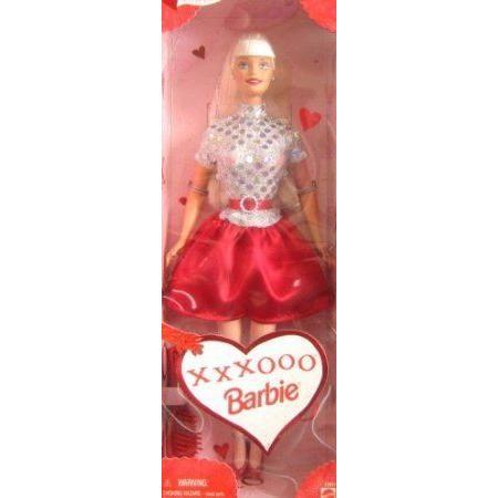 Barbie(バービー) 1999 Valentine Special Edition 12 Inch Doll - XXXOOO Barbie(バービー) Doll with G
