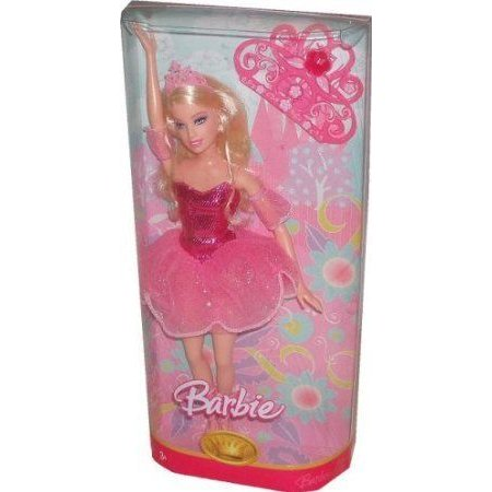 Barbie(バービー) 2007 Ballet Dancing Princess 12 Inch Doll in ピンク Outfit with Tiara, Ballet Shoes