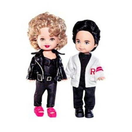 Barbie(バービー) 4 Grease Kelly Doll and Tommy Gift Set (ギフトセット) - ピンク Label Collection ド
