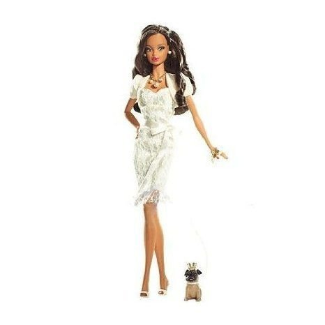 Barbie(バービー) African-American Miss Pearl June Birthstone Beautie Collection ドール 人形 フィギ