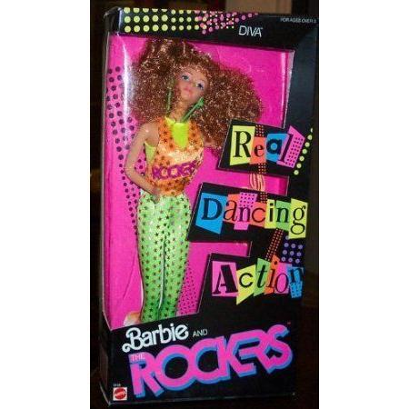 Barbie(バービー) and the Rockers Diva Doll ドール 人形 フィギュア