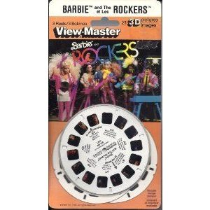 Barbie(バービー) and The Rockers ViewMaster 3D 3 Reel Set ドール 人形 フィギュア