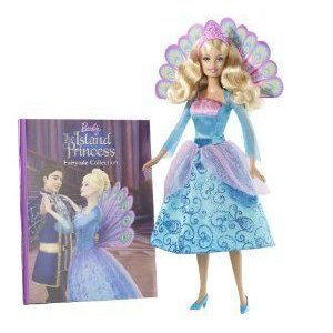Barbie(バービー) as the Island Princess Book and Doll Gift Set ドール 人形 フィギュア