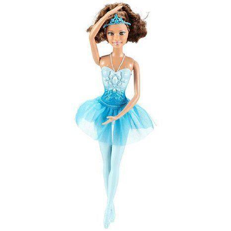 Barbie(バービー) Ballerina Brunette Theresa [青] ドール 人形 フィギュア