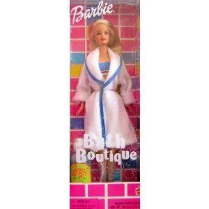 Barbie(バービー) Bath Boutique Doll w Bubble Bath (1998) ドール 人形 フィギュア