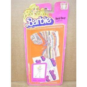 Barbie(バービー) Best Buy Fashions #2777 - Striped One Piece (ワンピース) Playsuit - 1978 ドール