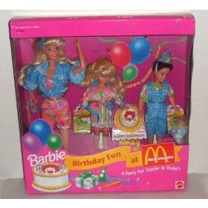 Barbie(バービー) Birthday Fun at McDonald's (マクドナルド) - A party for Stacie & Todd (1993) ドー
