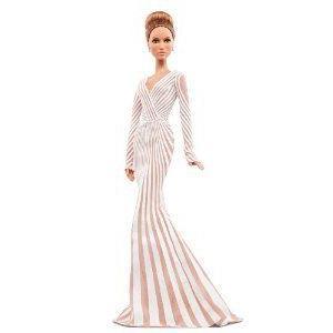 Barbie(バービー) Collector Jennifer Lopez 赤 Carpet Doll ドール 人形 フィギュア