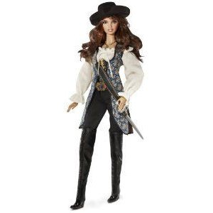 Barbie(バービー) Collector Pirates of The Caribbean: On Stranger Tides Angelica Doll ドール 人形