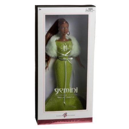 Barbie(バービー) Collector Zodiac Dolls - African American - Gemini (May 22 - June 21) ドール 人形