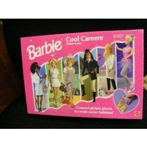 Barbie(バービー) Cool Career Puzzle Picture Game ドール 人形 フィギュア