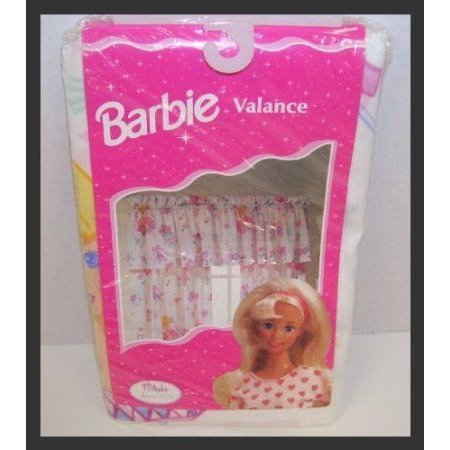 Barbie(バービー) Doll Ballerina 84 X 15 One Rod Pocket Valance Made in U.S.A. ドール 人形 フィギュ