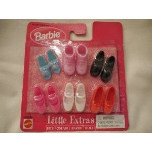 Barbie(バービー) Doll Little Extras Fits Poseable Barbie(バービー) Dolls 1998 ドール 人形 フィギュ