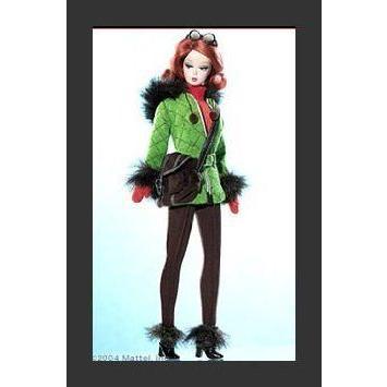 Barbie(バービー) Doll Silkstone Fashion Model ゴールド Label Skiing Vacation Fashion Ensemble ドール