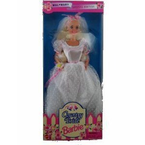 Barbie(バービー) Doll Special Edition Wal-mart Country Bride 1994 ドール 人形 フィギュア