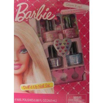 Barbie(バービー) Doll'd Up Nail Set ドール 人形 フィギュア