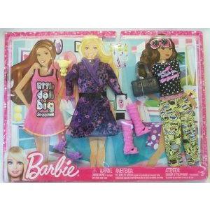 Barbie(バービー) Fahionistas Big Dreams Sleepwear Fashion Pack ドール 人形 フィギュア