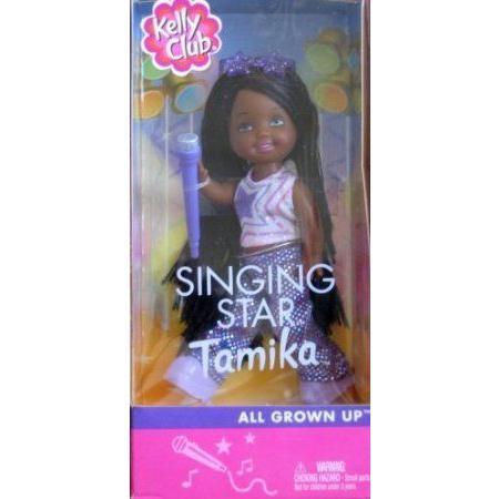 Barbie(バービー) Kelly Club Singing Star Tamika - All Grown Up Doll (2002) ドール 人形 フィギュア