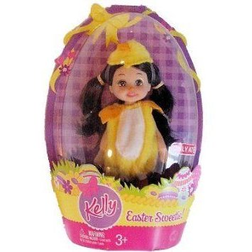 Barbie(バービー) Kelly Doll - Easter Sweetie Kayla in Chick Costume ドール 人形 フィギュア