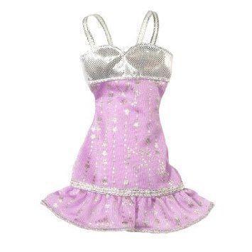 Barbie(バービー) Fashion Accessories 紫の Star Fashion Dress ドール 人形 フィギュア