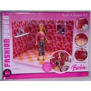 Barbie(バービー) Fashion Fever - Build a Room Kit ドール 人形 フィギュア
