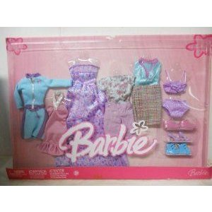Barbie(バービー) Fashions - Fabulous Looks! Fashion Clothes (2005) ドール 人形 フィギュア
