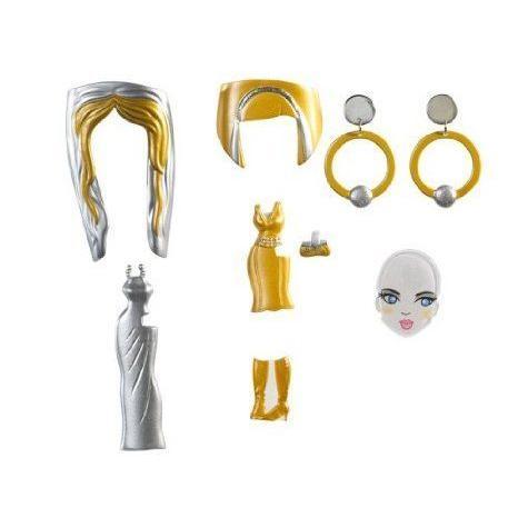 Barbie(バービー) Girls Glam Gowns Pack - ゴールド and 銀 ドール 人形 フィギュア