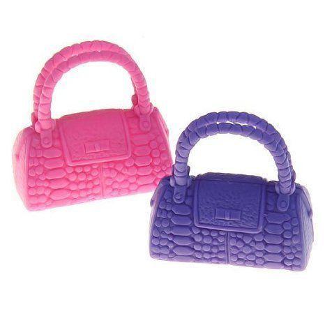 Barbie(バービー) hard plastic wallet handbag crocodile handbag - assorted colors ドール 人形 フィ