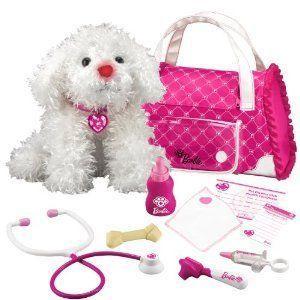 Barbie(バービー) Hug 'n Heal Pet Dr Maltese 白い ドール 人形 フィギュア