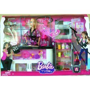 Barbie(バービー) I can be a TV Chef Doll and Playset ピンク Edition ドール 人形 フィギュア