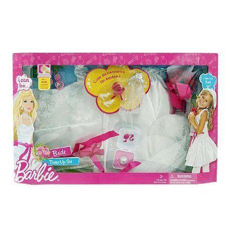 Barbie(バービー) I Can Dress up Set Bride Costume ドール 人形 フィギュア