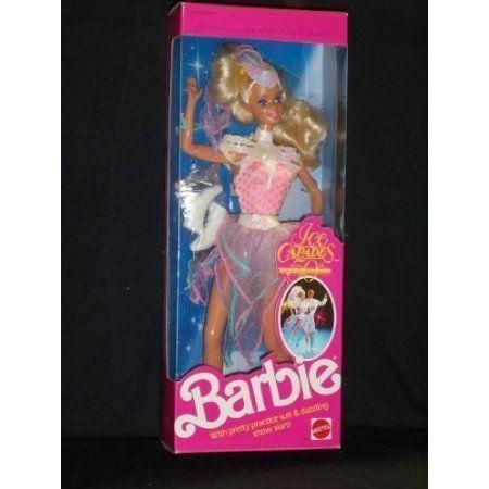 Barbie(バービー) Ice Capades Doll (1989) ドール 人形 フィギュア