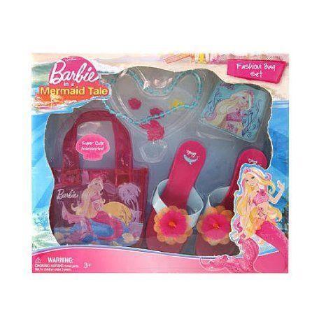 Barbie(バービー) In A Mermaid Tale: Fashion Bag Dress Up Set ドール 人形 フィギュア