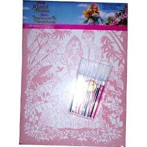 Barbie(バービー) in the Island Princess Flitter Velvet Doodles ドール 人形 フィギュア