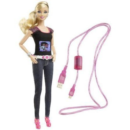 Barbie(バービー) Is A Real Working Digital Camera! - Barbie(バービー) Photo Fashion Doll ドール 人