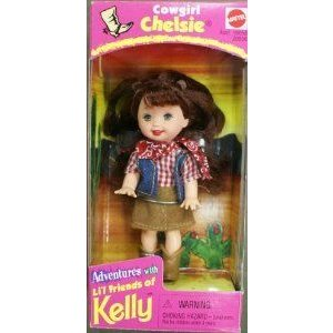 Barbie(バービー) Kelly Cowgirl Chelsie doll ドール 人形 フィギュア