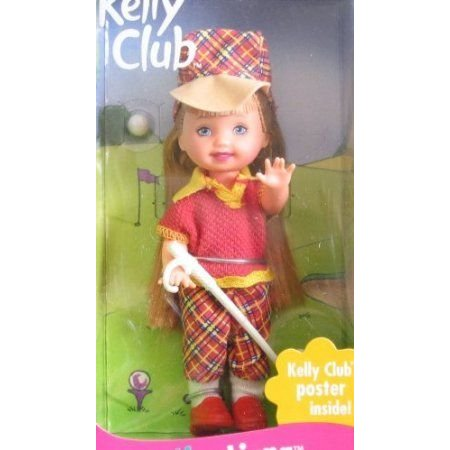 Barbie(バービー) Kelly GOLFER LIANA Doll w Golf Club & MORE! (1999) ドール 人形 フィギュア