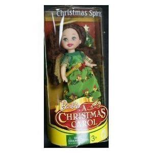 Barbie(バービー) Kelly in a Christmas Carol doll angel ドール 人形 フィギュア