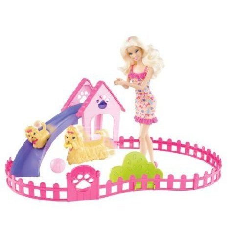 Barbie(バービー) Knows That Puppies Are Cute But They Need Training - Barbie(バービー) Puppy Play
