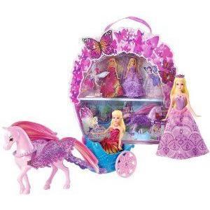 Barbie(バービー) Mariposa and The Fairy Princess ~4 Mini-Figure Gift Set ドール 人形 フィギュア