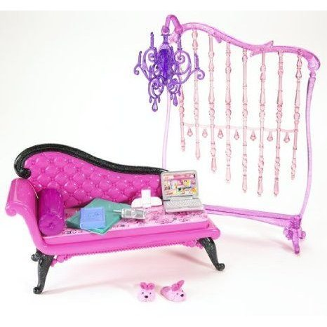 Barbie(バービー) My House Basic Furniture - Barbie(バービー) Glam Daybed ドール 人形 フィギュア