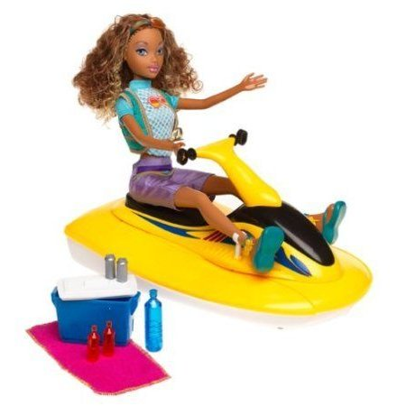 Barbie(バービー) My Scene Jammin in Jamaica SURFRIDER MADISON Doll AA, Seadoo & MORE!(2003) ドール