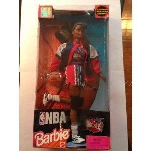 Barbie(バービー) NBA (バスケットボール) Rockets Cheerleader Doll - African-american (黒) Versio