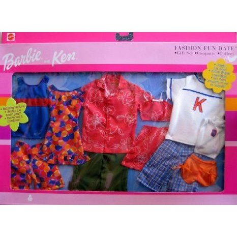 Barbie(バービー) Outfit Fashion Fun Date Gift Set (ギフトセット) 2001 ドール 人形 フィギュア